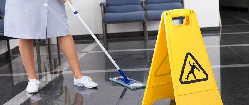 Health sector cleaning